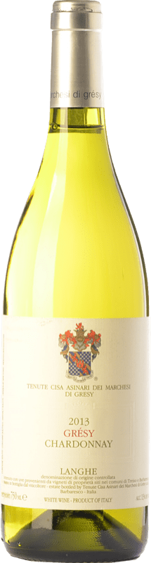 36,95 € | White wine Cisa Asinari Marchesi di Grésy D.O.C. Langhe Piemonte Italy Chardonnay Bottle 75 cl