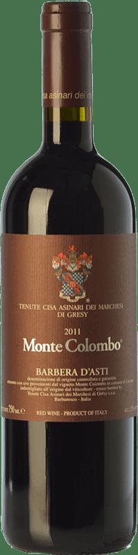 32,95 € | Red wine Cisa Asinari Marchesi di Grésy Asti Monte Colombo D.O.C. Barbera d'Asti Piemonte Italy Barbera Bottle 75 cl
