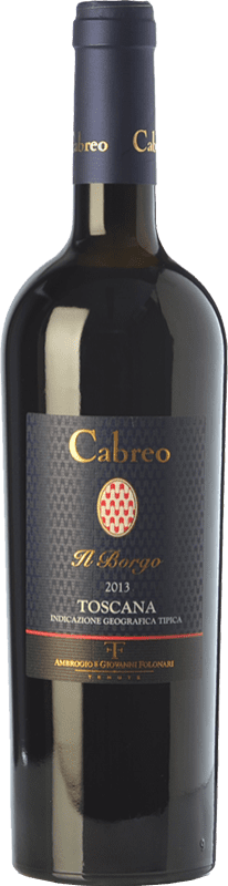52,95 € Free Shipping | Red wine Cabreo Il Borgo I.G.T. Toscana Tuscany Italy Cabernet Sauvignon, Sangiovese Bottle 75 cl