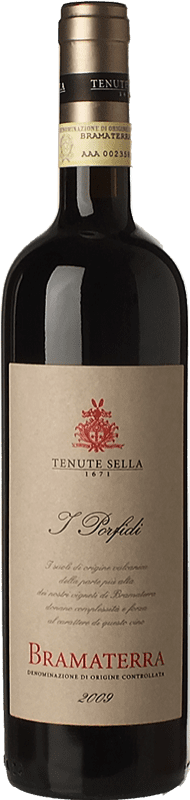 39,95 € | Red wine Tenute Sella I Porfidi 2009 D.O.C. Bramaterra Piemonte Italy Nebbiolo, Croatina, Vespolina Bottle 75 cl