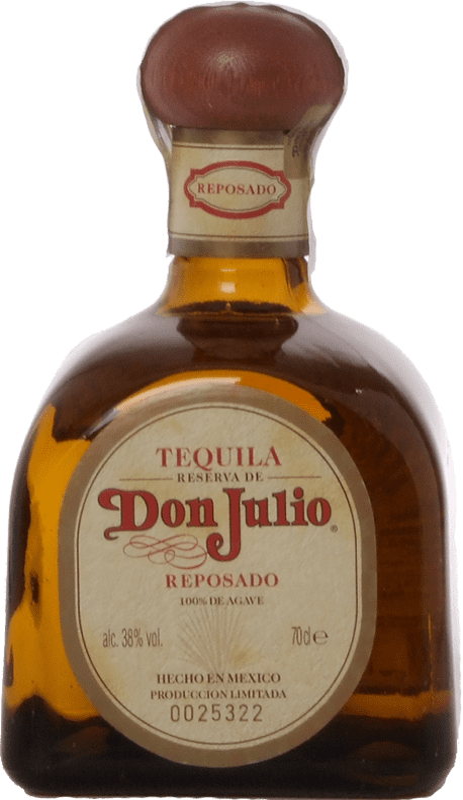 51,95 € Envío gratis | Tequila Don Julio Reposado Jalisco Mexico Botella 70 cl