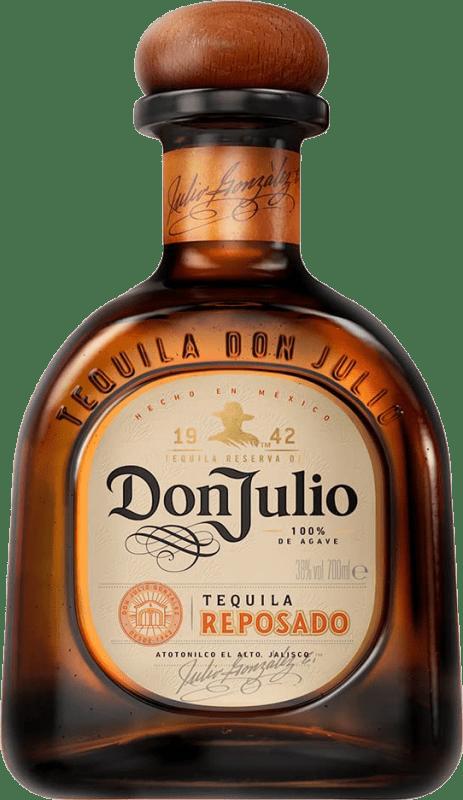 51,95 € Envoi gratuit | Tequila Don Julio Reposado Jalisco Mexique Bouteille 70 cl
