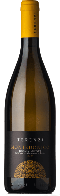 16,95 € | White wine Terenzi Montedonico D.O.C. Maremma Toscana Tuscany Italy Viognier Bottle 75 cl