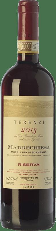 29,95 € | Red wine Terenzi Riserva Madrechiesa Reserva D.O.C.G. Morellino di Scansano Tuscany Italy Sangiovese Bottle 75 cl