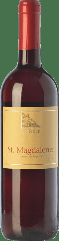 16,95 € | Red wine Terlano St. Magdalener D.O.C. Alto Adige Trentino-Alto Adige Italy Lagrein, Schiava Bottle 75 cl