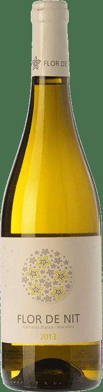 8,95 € Envío gratis | Vino blanco Terra i Vins Flor de Nit D.O. Terra Alta Cataluña España Garnacha Blanca, Macabeo Botella 75 cl