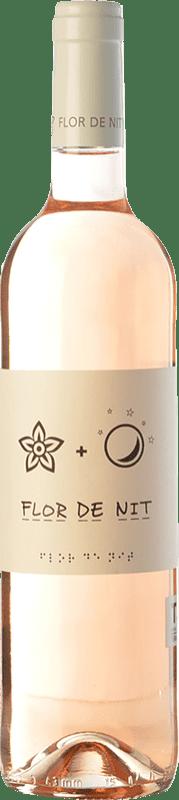 9,95 € Envío gratis | Vino rosado Terra i Vins Flor de Nit Rosat D.O. Terra Alta Cataluña España Garnacha Botella 75 cl