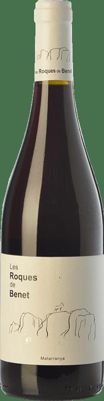 14,95 € Envío gratis | Vino tinto Terra i Vins Roques de Benet Crianza I.G.P. Vino de la Tierra Bajo Aragón Aragón España Syrah, Garnacha, Cabernet Sauvignon Botella 75 cl