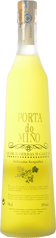 15,95 € Free Shipping | Herbal liqueur Terras Gauda Porta do Miño D.O. Orujo de Galicia Galicia Spain Bottle 70 cl