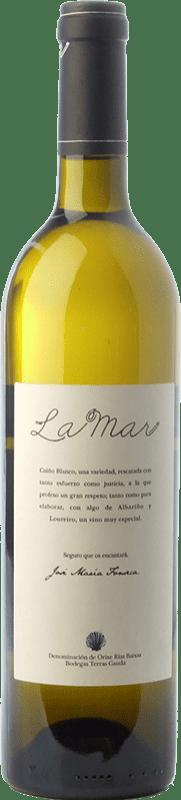 27,95 € Free Shipping | White wine Terras Gauda La Mar D.O. Rías Baixas Galicia Spain Loureiro, Albariño, Caíño White Bottle 75 cl