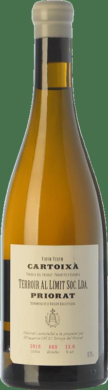 37,95 € Envoi gratuit | Vin blanc Terroir al Límit Cartoixà D.O.Ca. Priorat Catalogne Espagne Xarel·lo Bouteille 75 cl