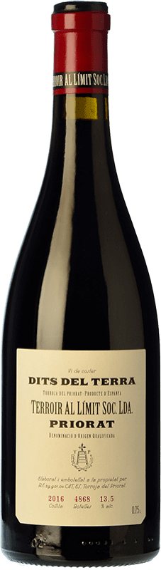 62,95 € | Red wine Terroir al Límit Dits del Terra Reserva D.O.Ca. Priorat Catalonia Spain Carignan Bottle 75 cl