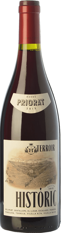 21,95 € Free Shipping | Red wine Terroir al Límit Històric Negre Joven D.O.Ca. Priorat Catalonia Spain Grenache, Carignan Bottle 75 cl
