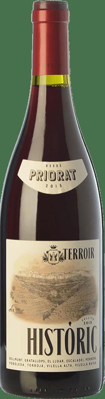 21,95 € 免费送货 | 红酒 Terroir al Límit Històric Negre Joven D.O.Ca. Priorat 加泰罗尼亚 西班牙 Grenache, Carignan 瓶子 75 cl