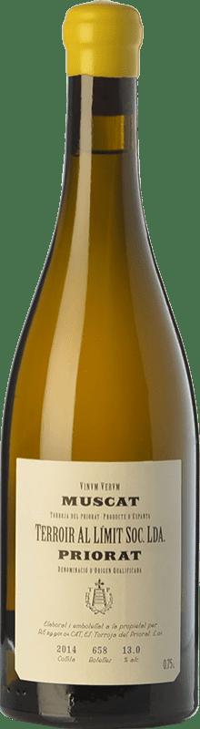 29,95 € Envío gratis | Vino blanco Terroir al Límit Muscat D.O.Ca. Priorat Cataluña España Moscatel de Alejandría Botella 75 cl