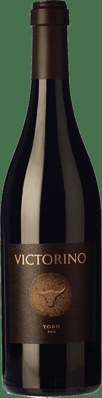169,95 € | Red wine Teso La Monja Victorino Crianza D.O. Toro Castilla y León Spain Tinta de Toro Jéroboam Bottle-Double Magnum 3 L