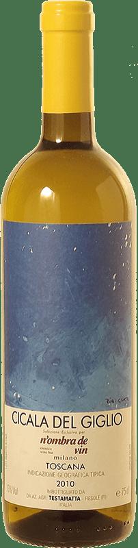 18,95 € Free Shipping | White wine Bibi Graetz Cicala del Giglio I.G.T. Toscana Tuscany Italy Ansonica Bottle 75 cl