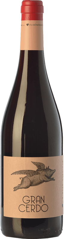 6,95 € | Red wine Wine Love Gran Cerdo Joven Spain Tempranillo, Graciano Bottle 75 cl