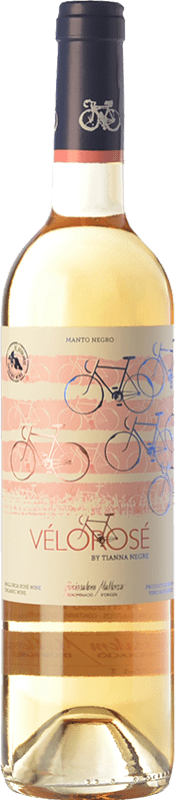 16,95 € Envoi gratuit | Vin rose Tianna Negre Vélorosé D.O. Binissalem Îles Baléares Espagne Mantonegro Bouteille 75 cl