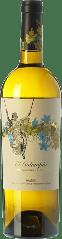 9,95 € Free Shipping | White wine Tianna Negre Ses Nines El Columpio Blanc D.O. Binissalem Balearic Islands Spain Muscatel, Chardonnay, Sauvignon White, Premsal, Giró Ros Bottle 75 cl