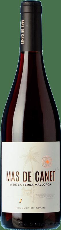7,95 € Envío gratis | Vino tinto Tianna Negre Ses Nines Mas de Canet Joven D.O. Binissalem Islas Baleares España Merlot, Syrah, Callet, Mantonegro Botella 75 cl