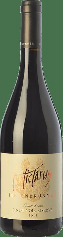 36,95 € | Red wine Tiefenbrunner Riserva Linticlarus Reserva D.O.C. Alto Adige Trentino-Alto Adige Italy Pinot Black Bottle 75 cl