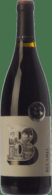 19,95 € Free Shipping | Red wine Tierras de Orgaz Bucamel Crianza I.G.P. Vino de la Tierra de Castilla Castilla la Mancha Spain Tempranillo Bottle 75 cl
