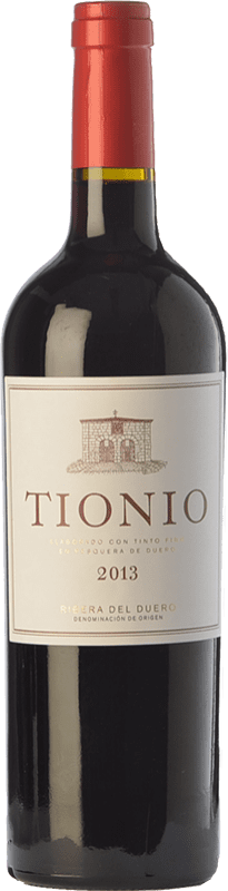 16,95 € | Red wine Tionio Crianza D.O. Ribera del Duero Castilla y León Spain Tempranillo Bottle 75 cl