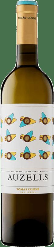 13,95 € 免费送货 | 白酒 Tomàs Cusiné Auzells Crianza D.O. Costers del Segre 加泰罗尼亚 西班牙 Viognier, Macabeo, Chardonnay, Sauvignon White, Muscatel Small Grain, Müller-Thurgau 瓶子 75 cl