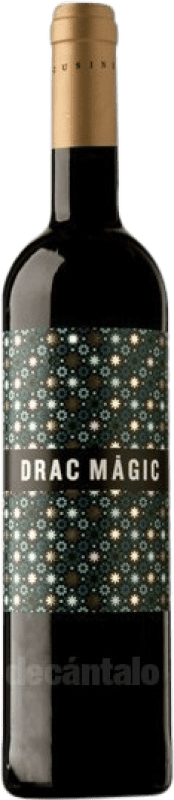 9,95 € Free Shipping | Red wine Tomàs Cusiné Drac Màgic Joven D.O. Costers del Segre Catalonia Spain Tempranillo, Merlot, Grenache, Cabernet Sauvignon, Carignan Bottle 75 cl