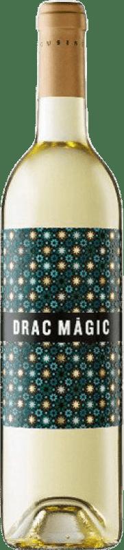 7,95 € Envío gratis | Vino blanco Tomàs Cusiné Drac Màgic Blanc D.O. Catalunya Cataluña España Viognier, Macabeo, Sauvignon Blanca Botella 75 cl
