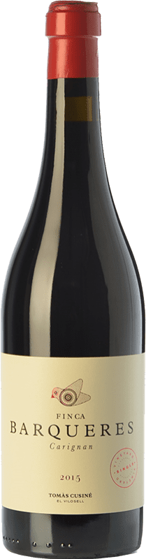 24,95 € | Red wine Tomàs Cusiné Finca Barqueres Crianza D.O. Costers del Segre Catalonia Spain Carignan Bottle 75 cl