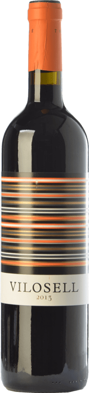 12,95 € 免费送货 | 红酒 Tomàs Cusiné Vilosell Crianza D.O. Costers del Segre 加泰罗尼亚 西班牙 Tempranillo, Merlot, Syrah, Grenache, Cabernet Sauvignon 瓶子 75 cl