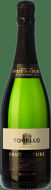 16,95 € Free Shipping | White sparkling Torelló Brut Nature Gran Reserva D.O. Cava Catalonia Spain Macabeo, Xarel·lo, Parellada Bottle 75 cl