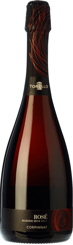 13,95 € Free Shipping | Rosé sparkling Torelló Rosé Brut Reserva D.O. Cava Catalonia Spain Grenache, Monastrell Bottle 75 cl