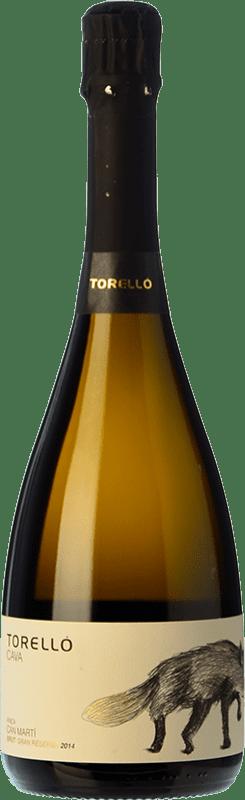 22,95 € Envoi gratuit | Blanc moussant Torelló Finca Can Martí Brut Gran Reserva D.O. Cava Catalogne Espagne Macabeo, Xarel·lo, Chardonnay, Parellada Bouteille 75 cl
