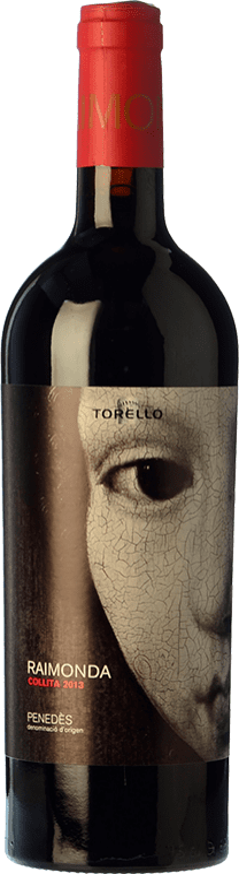 15,95 € Free Shipping | Red wine Torelló Raimonda Reserva D.O. Penedès Catalonia Spain Tempranillo, Merlot, Cabernet Sauvignon Bottle 75 cl