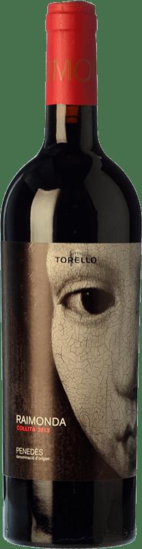 31,95 € Envoi gratuit | Vin rouge Torelló Raimonda Reserva D.O. Penedès Catalogne Espagne Tempranillo, Merlot, Cabernet Sauvignon Bouteille Magnum 1,5 L