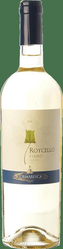 9,95 € Envoi gratuit | Vin blanc Tormaresca Roycello I.G.T. Salento Campanie Italie Fiano Bouteille 75 cl