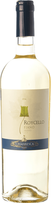 9,95 € Envío gratis   Vino blanco Tormaresca Roycello I.G.T. Salento Campania Italia Fiano Botella 75 cl