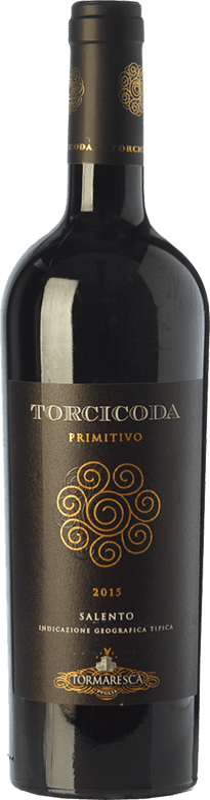 18,95 € Envío gratis   Vino tinto Tormaresca Torcicoda I.G.T. Salento Campania Italia Primitivo Botella 75 cl