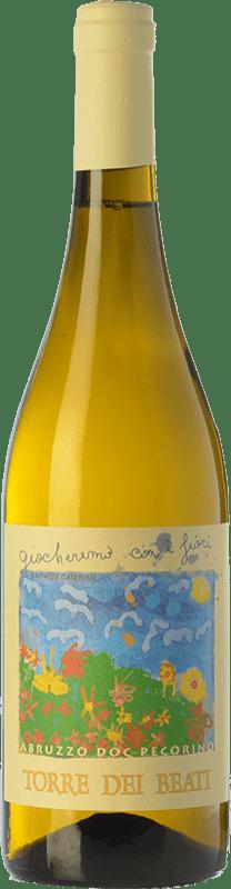 15,95 € Free Shipping | White wine Torre dei Beati Giocheremo con i Fiori D.O.C. Abruzzo Abruzzo Italy Pecorino Bottle 75 cl