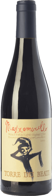 32,95 € Free Shipping | Red wine Torre dei Beati Mazzamurello D.O.C. Montepulciano d'Abruzzo Abruzzo Italy Montepulciano Bottle 75 cl