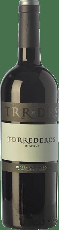 18,95 € | Red wine Torrederos Reserva D.O. Ribera del Duero Castilla y León Spain Tempranillo Bottle 75 cl