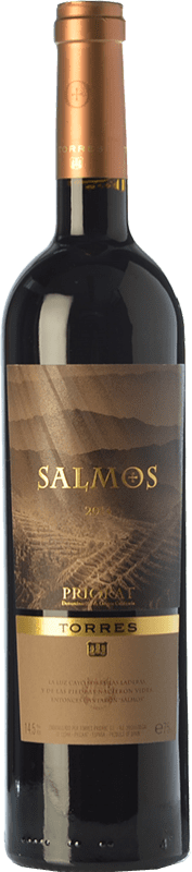 22,95 € Free Shipping | Red wine Torres Salmos Crianza D.O.Ca. Priorat Catalonia Spain Syrah, Grenache, Carignan Bottle 75 cl