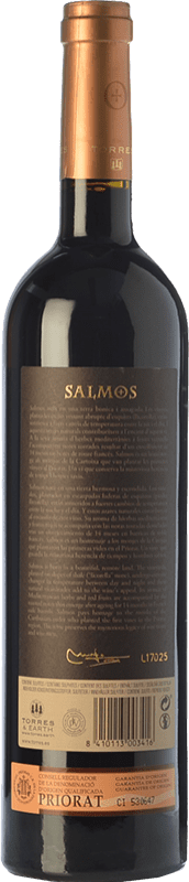 21,95 € Free Shipping | Red wine Torres Salmos Crianza D.O.Ca. Priorat Catalonia Spain Syrah, Grenache, Carignan Bottle 75 cl