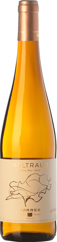 19,95 € | White wine Torres Waltraud D.O. Penedès Catalonia Spain Riesling Bottle 75 cl