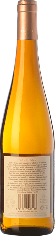 18,95 € Free Shipping   White wine Torres Waltraud D.O. Penedès Catalonia Spain Riesling Bottle 75 cl