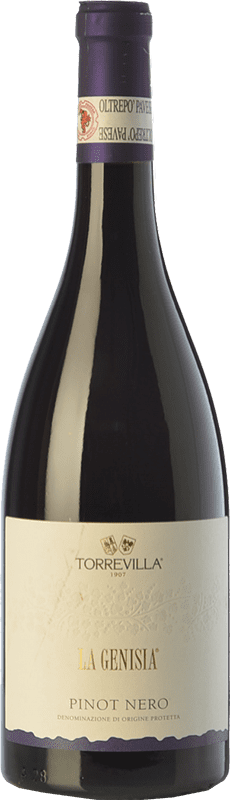 9,95 € Free Shipping | Red wine Torrevilla La Genisia Pinot Nero D.O.C. Oltrepò Pavese Lombardia Italy Pinot Black Bottle 75 cl