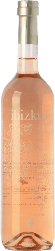 18,95 € | Rosé wine Totem Ibizkus I.G.P. Vi de la Terra de Ibiza Balearic Islands Spain Tempranillo, Syrah, Monastrell Bottle 75 cl
